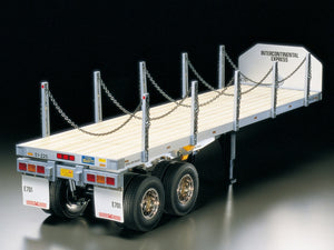 TAMIYA ITEM# 56306 FLATBED SEMI-TRAILER