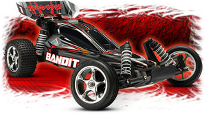 The Traxxas Bandit XL-5 The Number-One 1/10 Scale, 2WD Electric RC Buggy