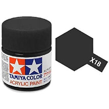 Tamiya X-1 Black Gloss Acrylic Paint #81501