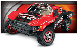 The Traxxas Slash VXL Pro 2WD Short-Course Truck with Traxxas Stability Management!