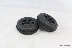 BAJA 5B FRONT SAND TIRES & WHEELS  #85046