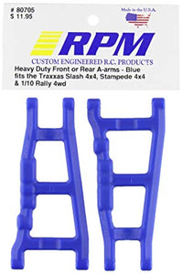 RPM Blue Slash 4WD/Stampede 4WD/Rally Front or Rear Left & Right Suspension Arms