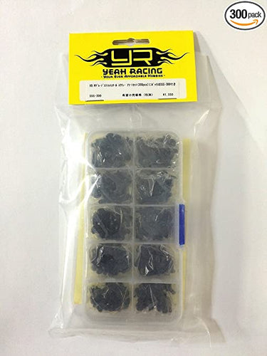 Yeah Racing 10.9 Grade Carbon Steel Screw Assorted Set (300pcs) with FREE Mini box #SSS-300