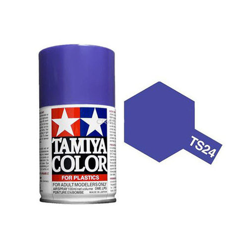 Tamiya TS-24 Purple Lacquer Spray Paint 100ml #TAM-85024