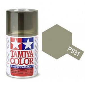 Tamiya PS-31 Smoke Polycarbanate Spray Paint 100ml #T86031