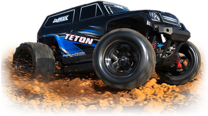 LaTrax Teton 1/18 Scale 4WD Monster Truck
