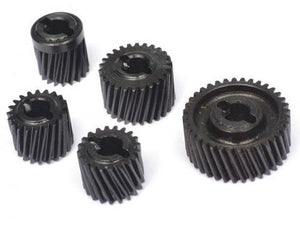 Heavy Duty Helical Transmission Gear Set for Axial SCX10 II 5pcs/set