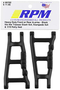 RPM Black Slash 4WD/Stampede 4WD/Rally Front or Rear Left & Right Suspension Arms #80702