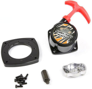 "Rovan ""Super Easy"" Pull Start Conversion Kit w/ Mounting Plate"
