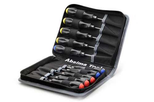 ABSIMA High Performance Tool Set (10 pcs.) incl. Bag