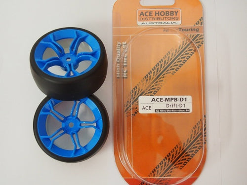 ACE HOBBY Drift Tyre & Rim (2PCS)