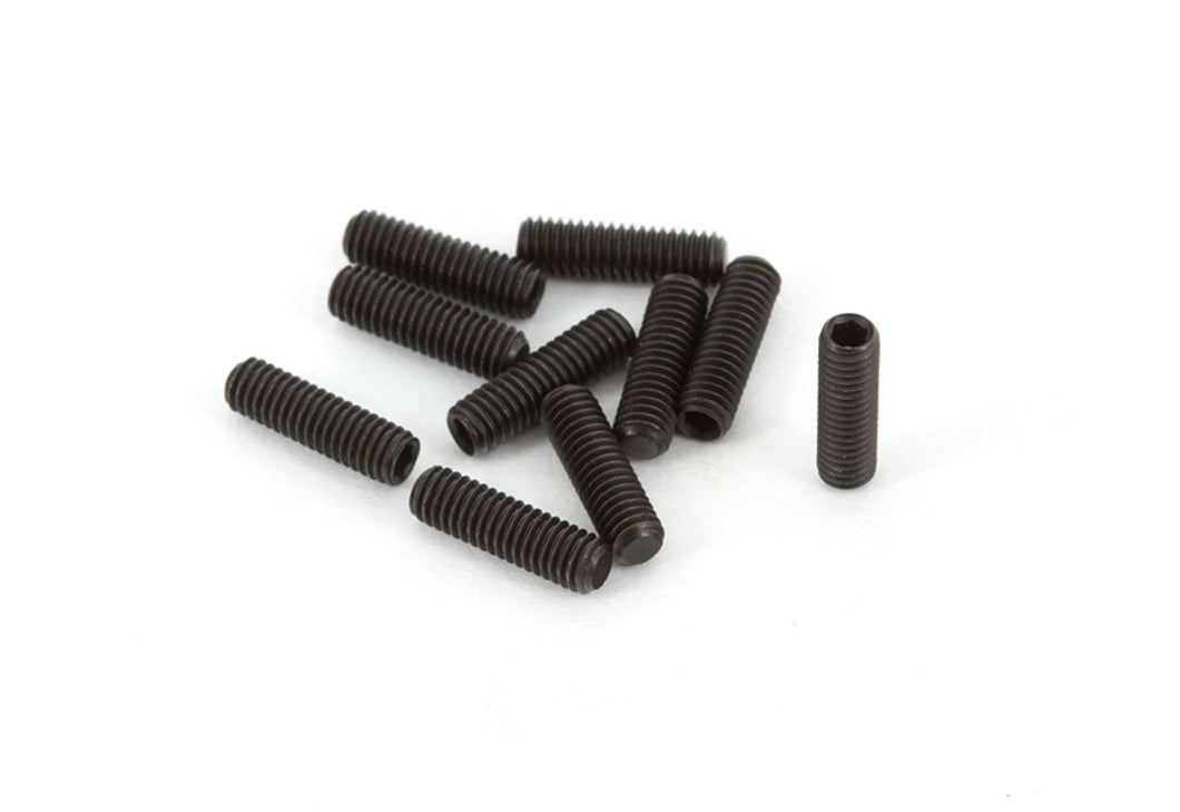 ARRMA 3x10mm Fine Thread Grub Screws 10Pcs # AR724310