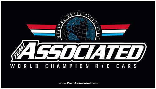 #Team Associated Track Banner 34 x 60in