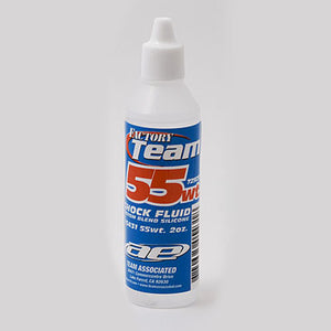 Team Associated Silicone Shock Oil 55 weight #ASS5431