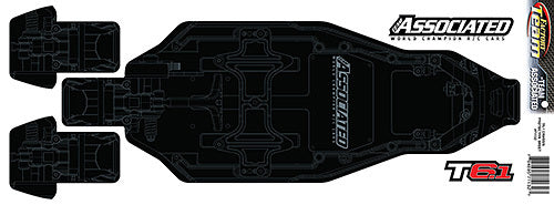 TEAM ASSOCIATED Chassis Protective Sheet T6.1 #71132