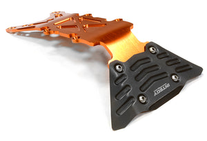 BILLET MACHINED FRONT SKID PLATE FOR TRAXXAS 1/10 SCALE E-MAXX BRUSHLESS