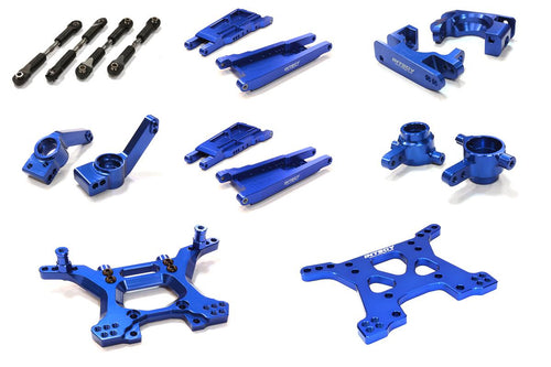 Billet Machined Stage 1 Suspension Kit for Traxxas 1/10 Slash 4X4 LCG #C26516
