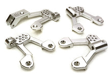 BILLET MACHINED ALLOY SHOCK TOWER SET FOR AXIAL 1/10 SCX10 II
