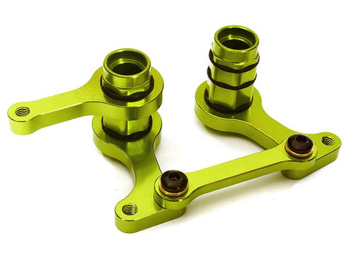 Alloy Steering Bellcrank Set for Traxxas 1/10 Bandit, Slash 2WD, F-150 Raptor C28342GREEN