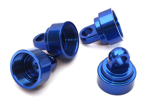 INTEGY Alloy Shock Caps for Traxxas 1/10 Slash, Stampede, Rustler & Bandit C28455