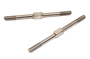 INTEGY Billet Machined Titanium Turnbuckles 3.0mm x 52mm True Size for On-Road/Off-Road C29057