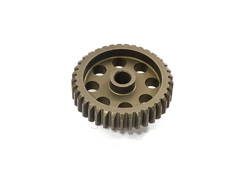 Billet Machined 48 Pitch Pinion Gear 39T, 3.17mm Bore/Shaft for Brushless R/C C29237