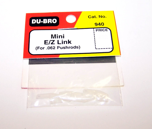 DUBRO 940 MINI E/Z LINK (FOR .062) (4 PCS PER PACK)