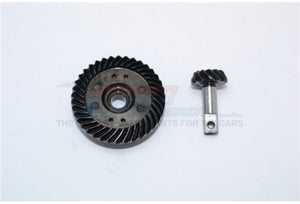 GPM E-Revo Hardened Steel Spiral Crown & Pinion Differential Gears