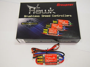 Hawk 30amp HV Brushless ESC