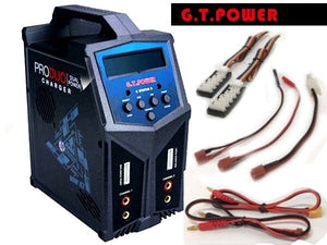 GT POWER X2 Multi Chem Duo charger 2x80W AC/DC