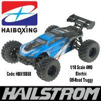 HAIBOXING HBX18858 HBX HAILSTROM 1/18 SCALE 4WD TRUGGY WITH 2.4GHZ RADIO. 7