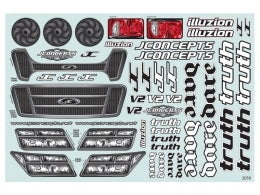 JCONCEPTS Truth / Dare Decal Sheet #JC2059