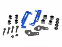 JCONCEPTS Swing Operated Battery Retainer Set blue #2604-1
