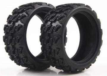 KYOSHO FAT101 RALLY BLOCK TIRE (2PCS/FAZER RALLY)