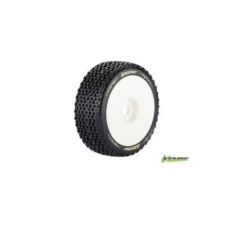 LOUISE B-Pirate 1/8 Competition Buggy Tyres #LT3126SW