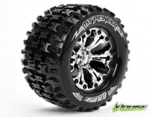 "LOUISE MT-Pioneer 1/10 2.8 Monster Truck Tyres"" #LT3202SC"