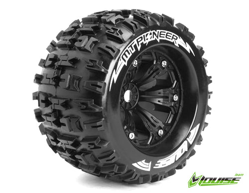 Louise MT-Pioneer 1/8 Monster Truck Tyres Black