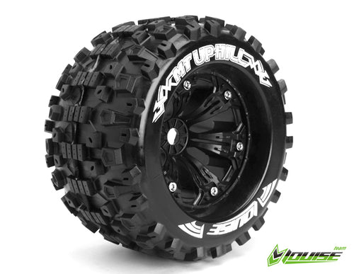 LOUISE MT-Uphill 1/8 Monster Truck Tyres Black