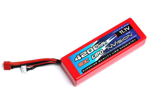 nVision Racing Lipo 4200 60C 11,1V 3S Deans #NVO1106