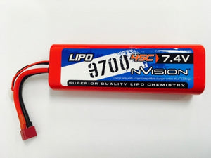 nVision Sport Lipo 3700 45C 7,4V 2S Deans