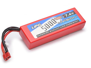 NVISION Sport LiPo 5000 45C 7,4V 2S Deans