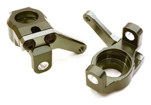 CNC MACHINED ALLOY STEERING BLOCK (2) FOR AXIAL 1/10 SCX10 II