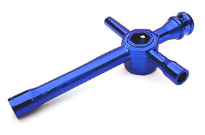 Universal Cross Hex Wrench 5.5mm, 7mm, 8mm, 10mm, 12mm & 17mm OBM-1466BLUE