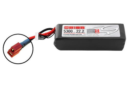 Team Orion LiPo 5300 6S 22,2V 50C Deans