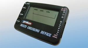 PROLUX 2721 BATTERY CHECKER FOR LIPO. LIFE. LION. NICAD. NIMH PACKS