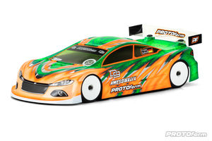PROTOFORM D9 190MM LIGHT WEIGHT CLEAR TOURING CAR BODY - PR1564-25