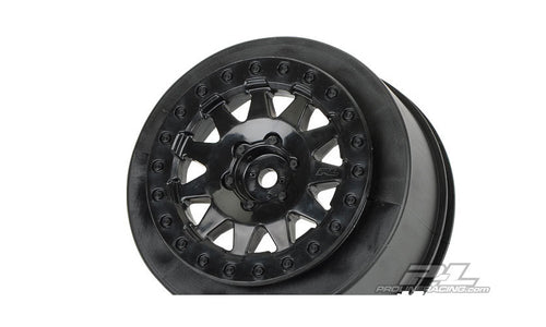 PROLINE F-11 PLUS3 OFFSET 2.2/3.0 BLACK WHEELS 2PCS - PR2739-03