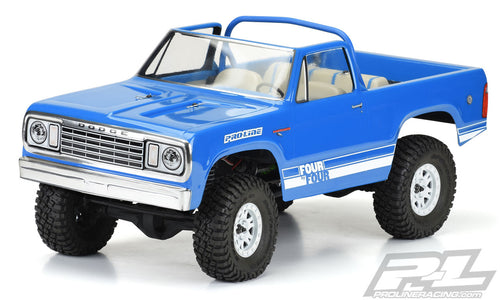 PROLINE 1977 DODGE RAMCHARGE CLEAR BODY FOR (313MM) CRAWLERS - PR3525-00