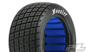 "HOOSIER ANGLE BLOCK 2.2"" M4 (SUPER SOFT) OFF-ROAD BUGGY REAR TIRES (2) (WITH CLOSED CELL FOAM)"