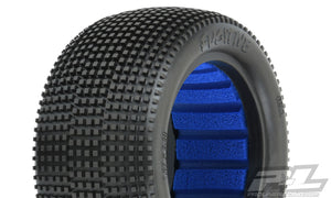 "FUGITIVE 2.2"" M4 (SUPER SOFT) OFF-ROAD BUGGY REAR TIRES (2) (WITH CLOSED CELL FOAM) - PR8285-03"